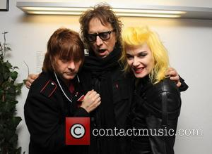 Zak Starkey and Mick Rock