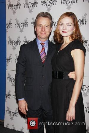 Linus Roache and Heather Burns