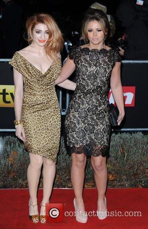 Nicola Roberts and Kimberley Walsh