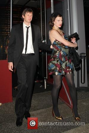 Milla Jovovich and Shawn Andrews