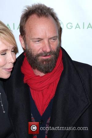 Sting, aka Gordon Sumner Launch Party of Trudie Styler's 'Mind Body Fitness' DVD Series, held at Donna Karan's Urban Zen...