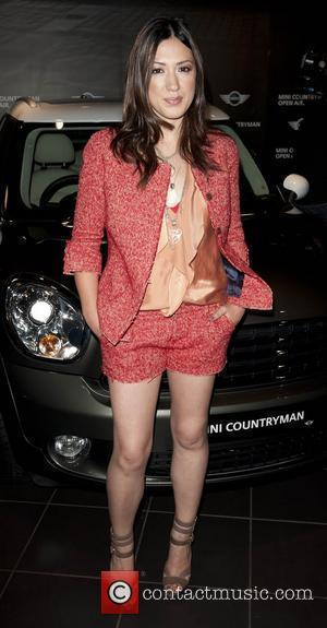 Michelle Branch Photocall at the Mini showroom on Park lane. London, England - 08.06.10