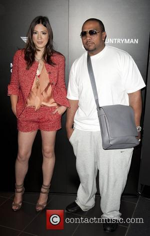 Michelle Branch and Timbaland  Photocall at the Mini showroom on Park lane. London, England - 08.06.10