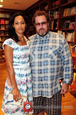 Award-winning Italo-Palestinian journalist Rula Jebreal and and boyfriend director Julian Schnabel  Reading and signing of Rula Jebreal's debut novel...