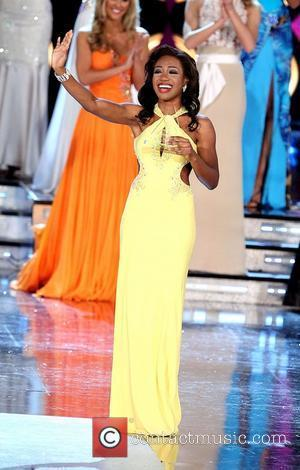 Miss Rhode Island Deborah Saint-Vil Miss America 2011 Preliminary's Day 2 held at The Theater of Performing Arts at Planet...