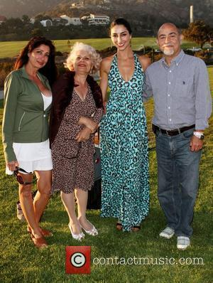Necar Zadegan with her Family Miss Malibu Pageant 2010 held at The Bluff Park Malibu, California - 21.08.10