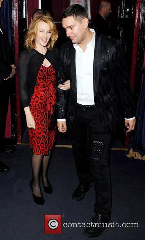 Kylie Minogue and William Baker