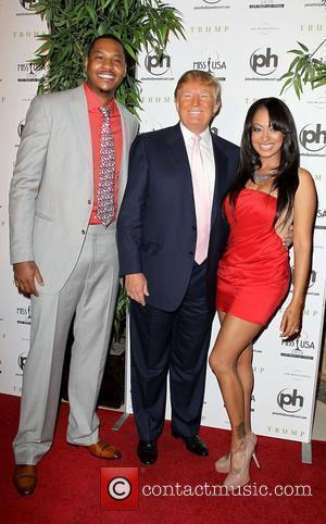 Carmelo Anthony and Donald Trump