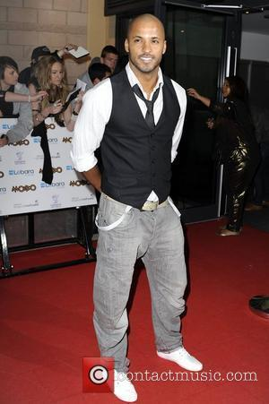 Ricky Whittle MOBO Awards 2010 held at the Echo Arena Liverpool, England - 20.10.10
