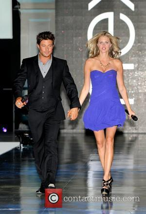Duncan James and Donna Air Make me the next model competition final - photocall held at the Old Billingsgate Market....