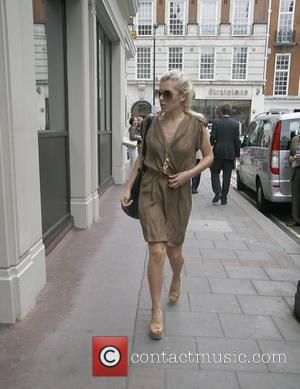 Mollie King  from the group 'The Saturdays' is spotted going into The Mayfair Hotel. London, England - 23.07.10