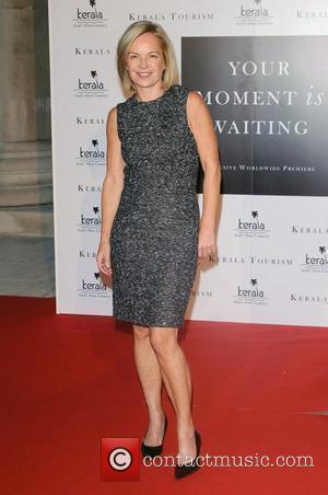Mariella Frostrup,  Launch Party of 'Your Moment Is Waiting' held at the Saatchi Gallery. London, England - 21.09.10