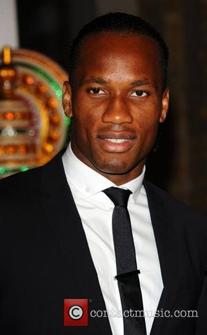 Didier Drogba Launch Party of 'Your Moment Is Waiting' held at the Saatchi Gallery London, England - 21.09.10