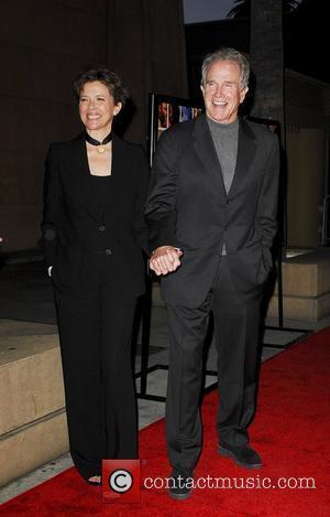 Warren Beatty and Annette Bening