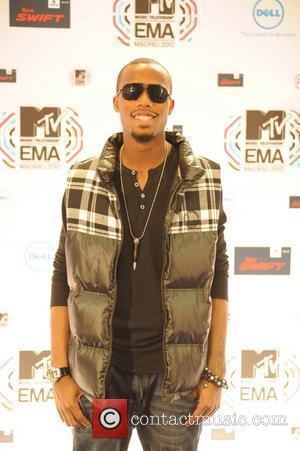B.O.B MTV Europe Music Awards 2010 at the La Caja Magica - Arrivals  Madrid, Spain - 07.11.10