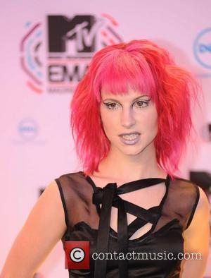 Hayley Williams (paramore) MTV Europe Music Awards 2010 at the La Caja Magica - Arrivals  Madrid, Spain - 07.11.10