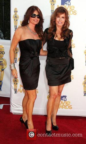 Roma Downey and Tracey Bregman Recht 2010 MTV Movie Awards - Arrivals held at the Gibson Amphitheater at Universal Studios...