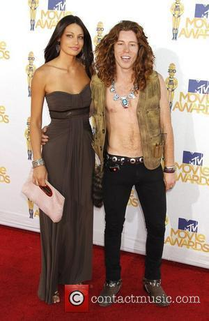 Shaun White and guest 2010 MTV Movie Awards - Arrivals held at the Gibson Amphitheater at Universal Studios Universal City,...