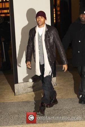 Chris Brown outside MTV studios New York City, USA - 08.12.09