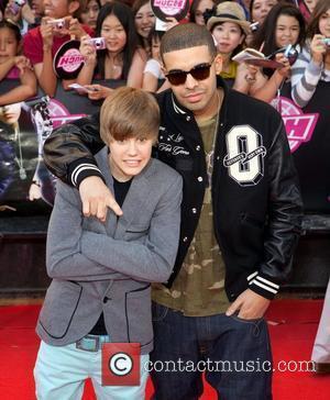 Singers Justin Bieber and Justin Bieber
