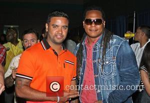 Zion and Lennox Various artists perform at 'Music Hall Reggaeton Concert' held at Centro de Convenciones de Puerto Rico. San...