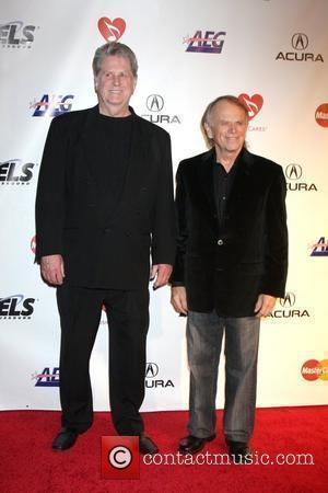 Brian Wilson and Alan Jardine 2010 MusiCares Person of The Year Tribute to Neil Young held at the Los Angeles...