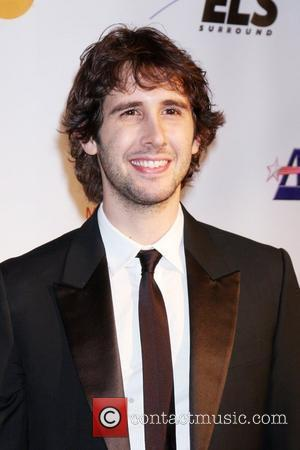 Groban Headlines Former High School's Gala