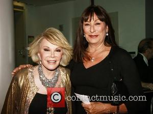 Joan Rivers and Angelica Huston