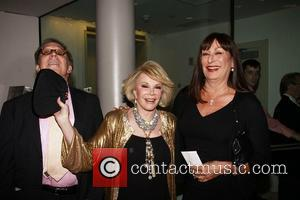 Kenny Solms, Angelica Huston and Joan Rivers