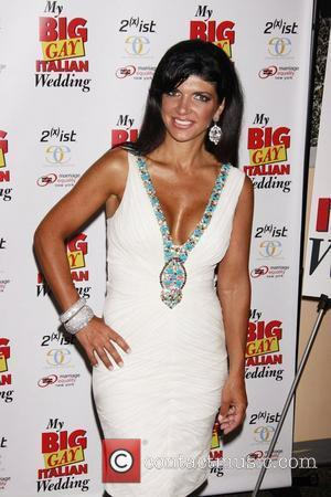 Teresa Giudice Opening night of 'The Real Housewives of New Jersey' starring in the Off-Broadway production of 'My Big Gay...