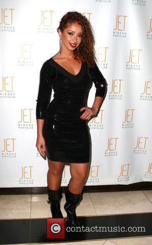 Mya  hosts an evening at Jet nightclub inside The Mirage Resort Hotel Casino Las Vegas, Nevada - 15.01.10