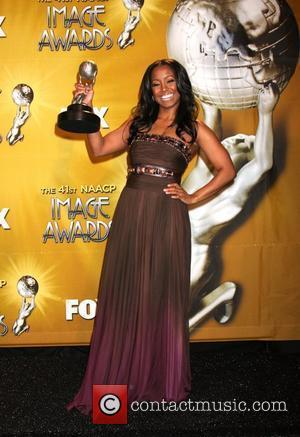 Keshia Knight Pulliam 41st NAACP Image Awards at the Shrine Auditorium - Press Room Los Angeles, California - 26.02.10