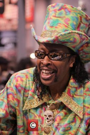 Bootsy Collins NAMM 2011 'National Association of Music Merchants' Show - Day 2 Anaheim, California - 14.01.11