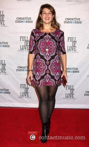 Nia Vardalos Nancy O'Dell launches her new book 'Full of Love' at SLS Hotel of Beverly Hills Los Angeles, California,...