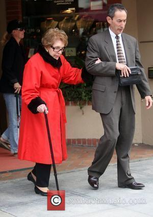 Nancy Reagan leaves a medical building in Beverly Hills Los Angeles, California - 27.05.10