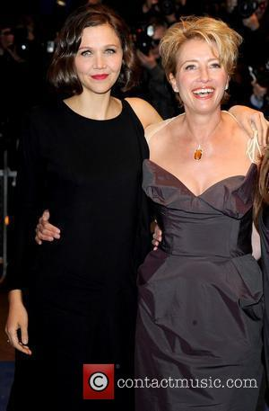 Maggie Gyllenhaal and Emma Thompson