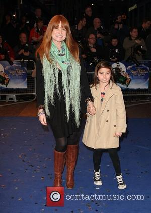 Patsy Palmer and Guest 'Nanny McPhee And The Big Bang' UK film premiere held at the Odeon West End -...