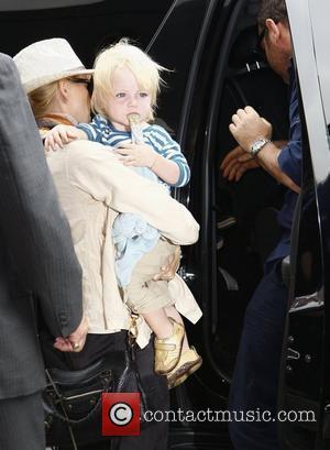 Naomi Watts and her son Samuel 'Sammy' Kai Schreiber outside LAX  Los Angeles, USA - 25.07.10