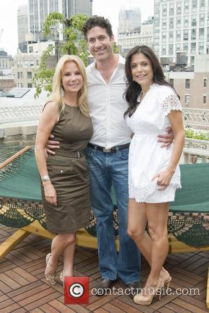 Kathie Lee Gifford, Eduardo Xol and Bethenny Frankel 2010 National Hammock Day celebration held at Midtown Loft & Terrace New...