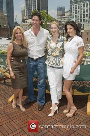 Kathie Lee Gifford, Eduardo Xol and Kelly Rutherford