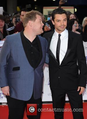 James Corden and Dominic Cooper