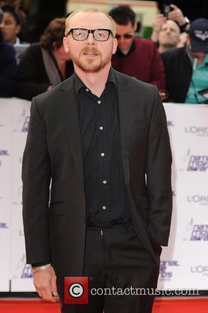 Simon Pegg  The National Movie Awards at Royal Festival Hall - arrivals London, England - 26.05.10