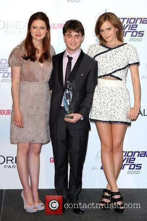 Bonnie Wright and Daniel Radcliffe