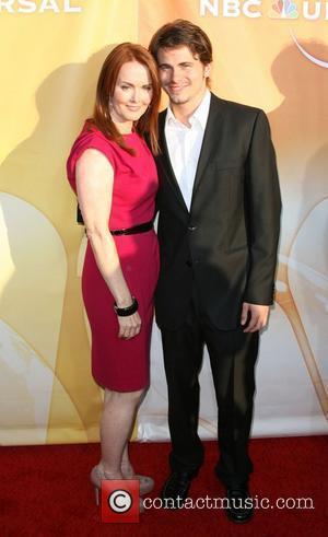 Laura Innes and Jason Ritter