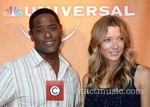 Blair Underwood and Sarah Roemer NBC Universal's 2010 TCA Summer Party held at the Beverly Hilton Hotel Beverly Hills, California...