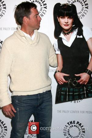 Michael Weatherly and Pauley Perrette Standee The 27th annual PaleyFest presents 'NCIS' at the Saban Theatre Los Angeles, California -...