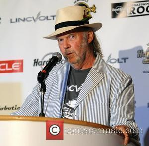 Neil Young attends 'Repowering the American Dream LincVolt' automotive environmental initiative at Seminole Hard Rock Hotel  Hollywood, Florida -...
