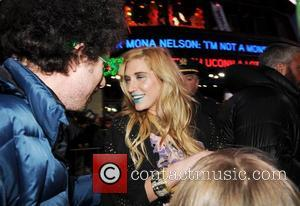 Kesha and Mayor Bloomberg