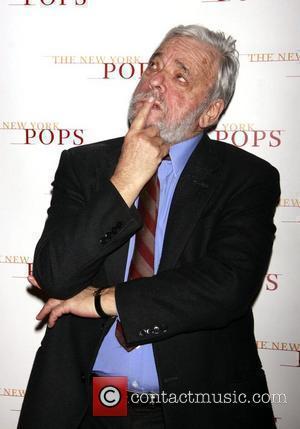 Stephen Sondheim  'The New York Pops: Stephen Sondheim's 80th Birthday Celebration' at Carnegie Hall - Backstage New York City,...