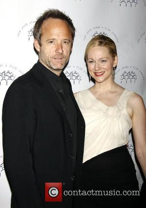 John Benjamin Hickey and Laura Linney